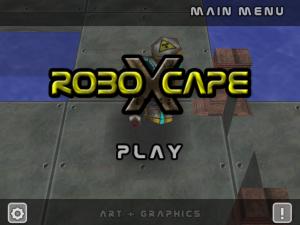 roboXcape on iPad
