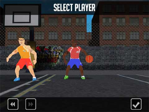 Street Basket: One on One [select player]