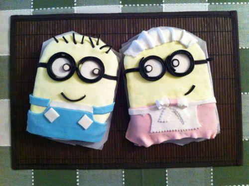 Minion Cakes