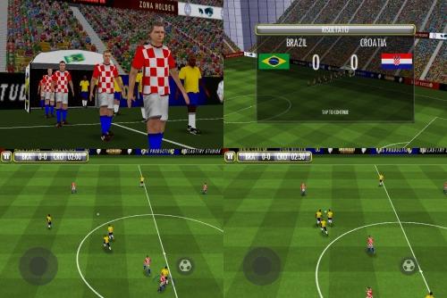 King Soccer: Brazil-Croatia