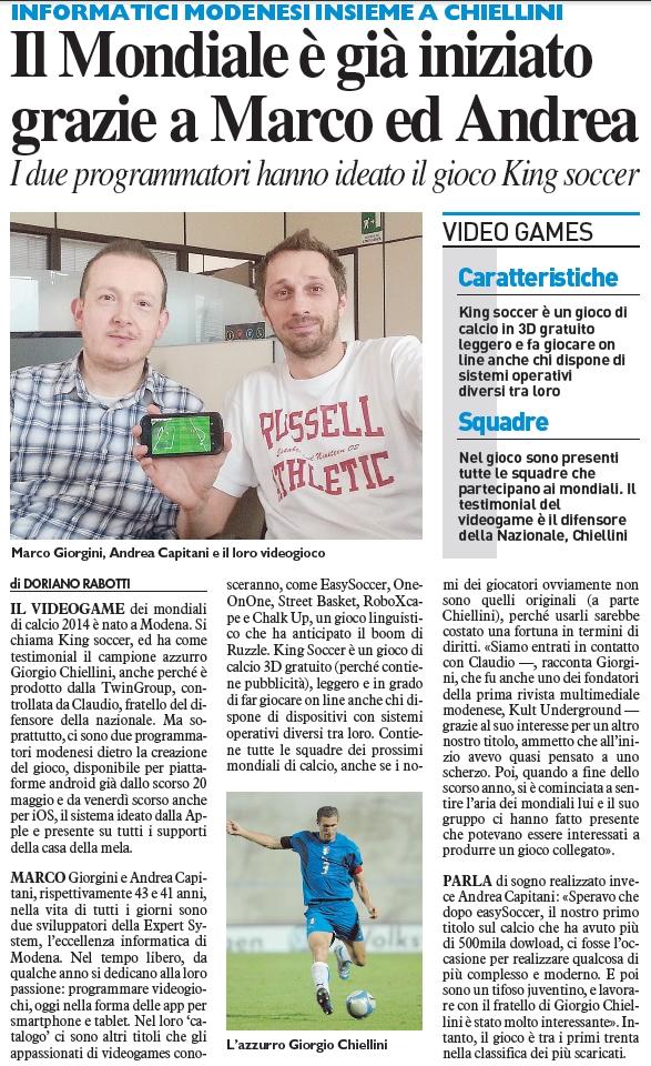 Il Resto del Carlino - Modena (03.06.2014)