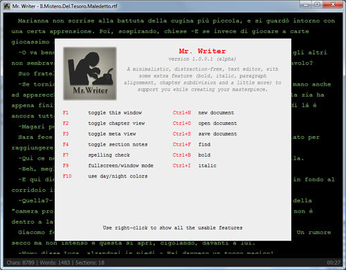 mrwriter-help