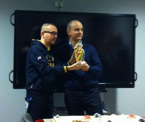 Premio Polik 2016  - Marco Giorgini (L) + Marco Varone (R)