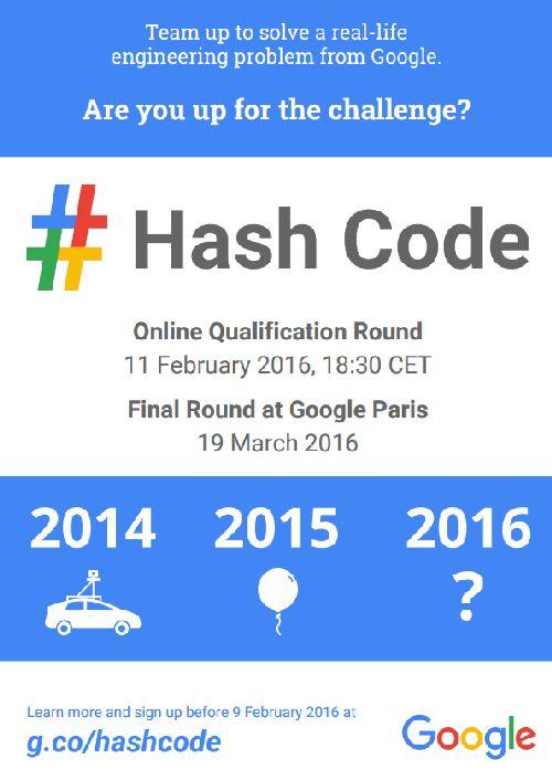 hashcode2016