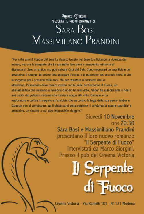Il Serpente di Fuoco (flyer)